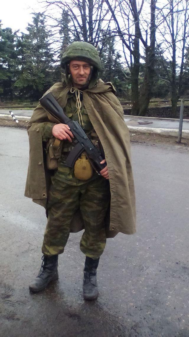 Житель Скадовска воевал на стороне боевиков