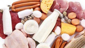 продукты, мясо, молоко