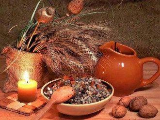 Крещение, Рождество, кутья, свеча
