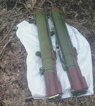 Найденные гранатометы РПГ-22