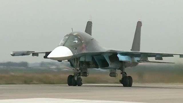В России после столкновения Су-34 не спасли второго пилота