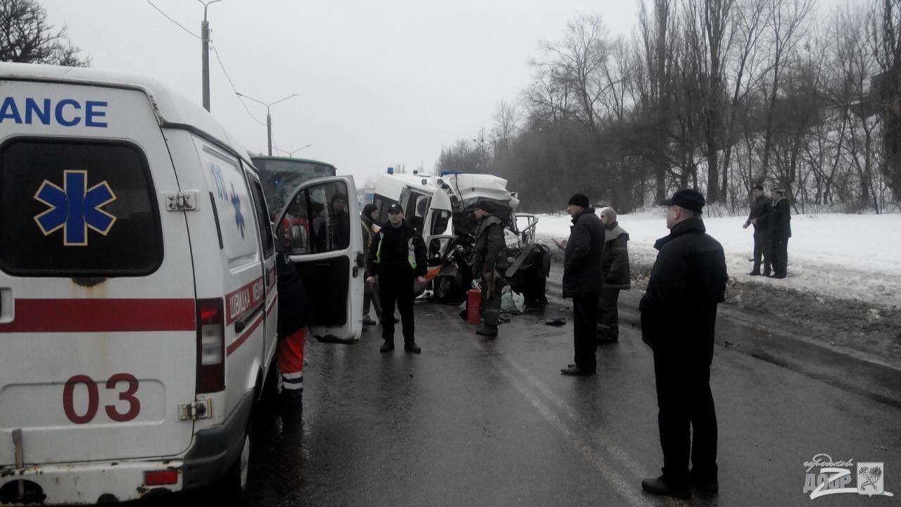 Жуткая авария в Харькове.