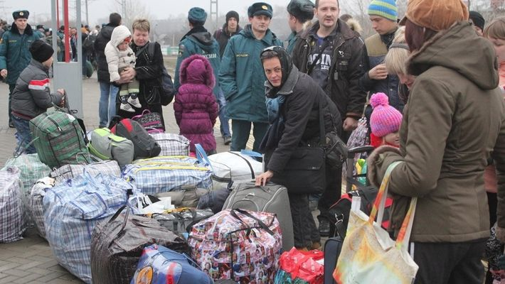 Беженцы Донбасса в Казани, иллюстрация