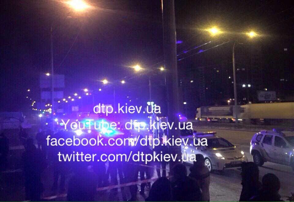 Погоня за BMW в Киеве, иллюстарция