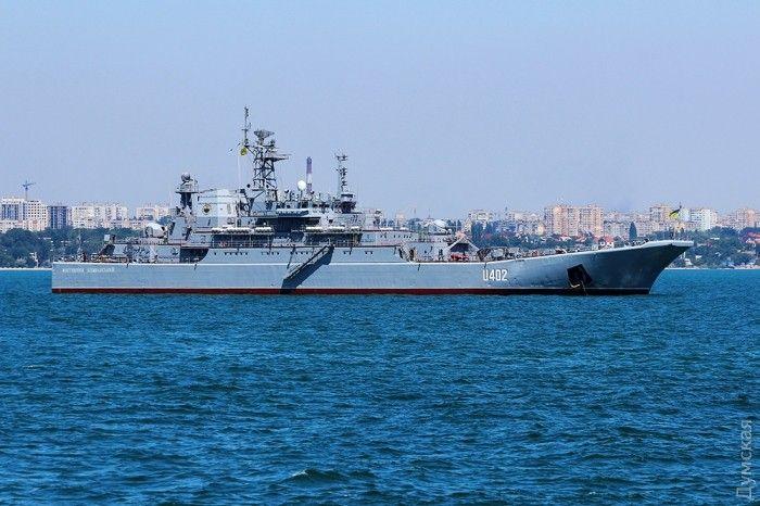 В Крыму остались украинские корабли