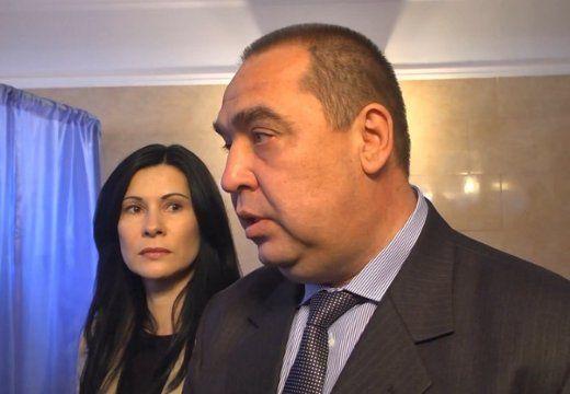 Игорь Плотницкий с женой Ларисой