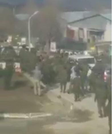 Массовая драка в воинской части в Чечне