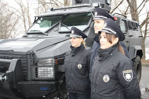 Патрульная полиция начала работу в Кременчуге