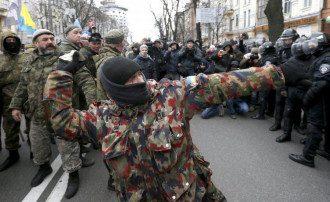 Погромщики у Сбербанка России