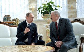Путін, Лукашенко, Мінськ