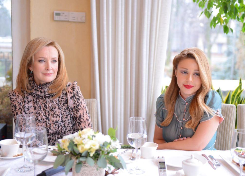 Тина Кароль и Елена Стефанская