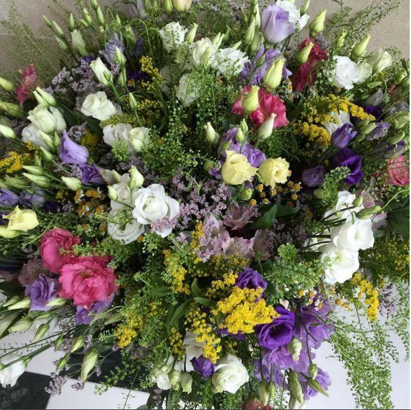 Цветы от Максима и детей