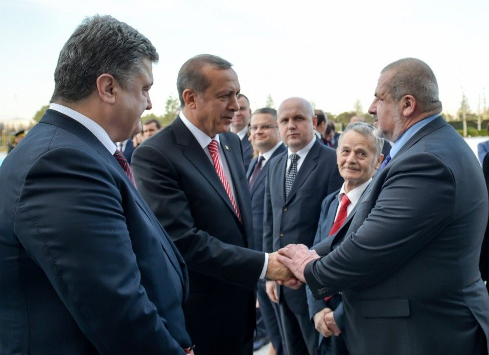 Порошенко, Эрдоган, Джемилев и Чубаров