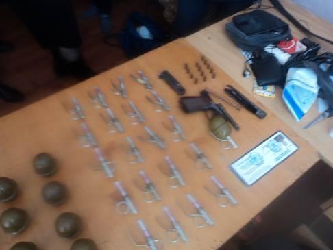 Под Одессой поймали торговца оружием