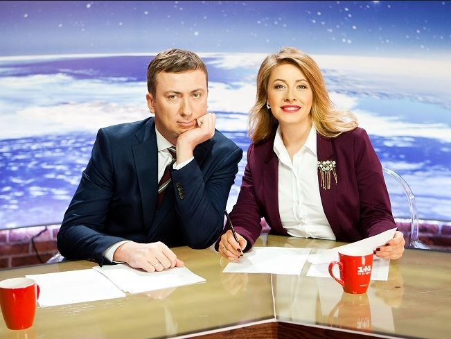 Елена Кравец и Валерий Жидков