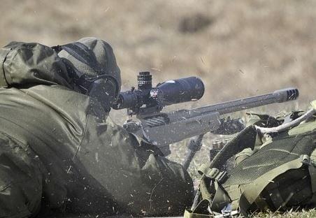 Снайпер, силовик, Україна