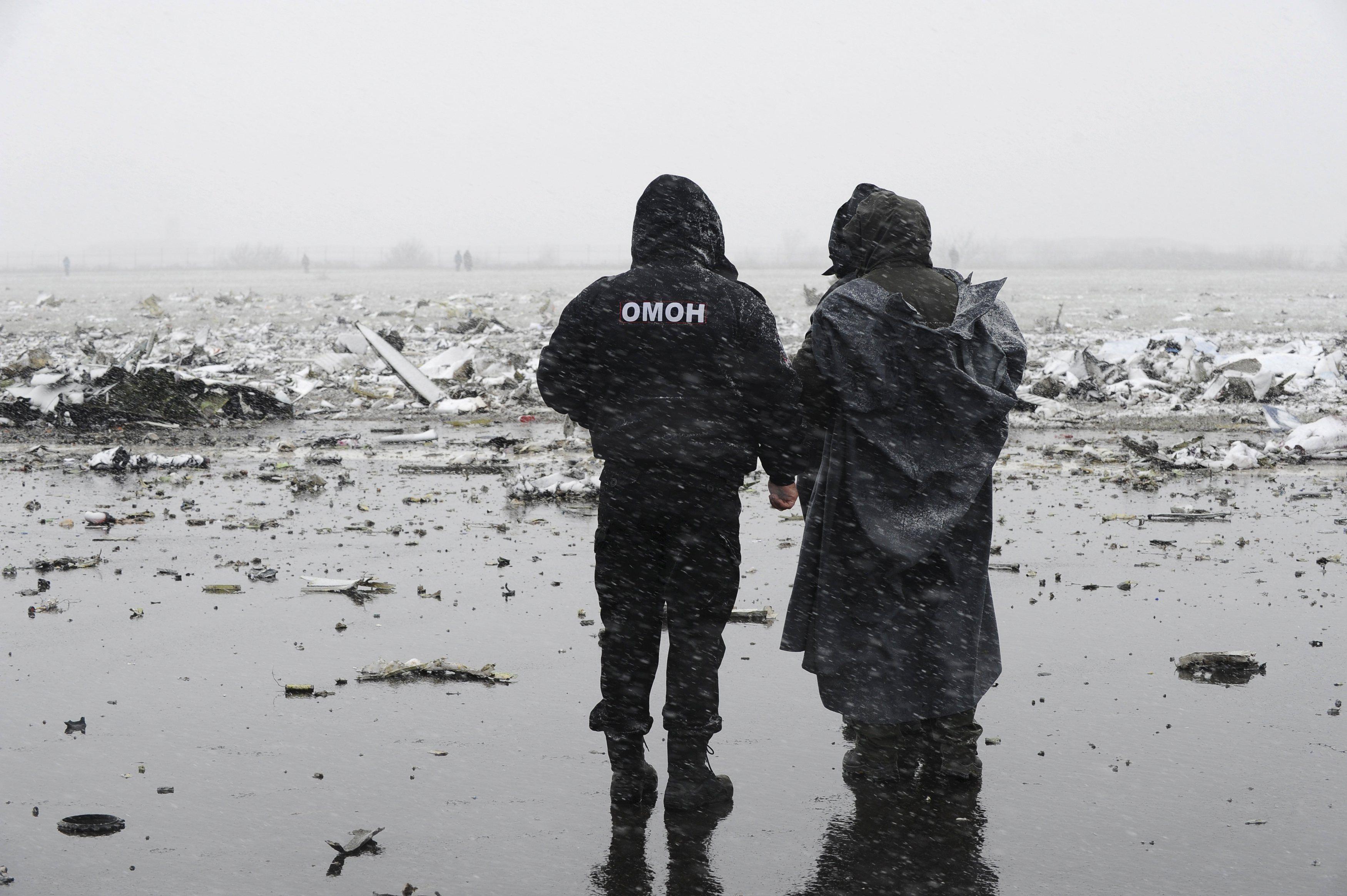 Крушение Boeing-737 в Ростове.