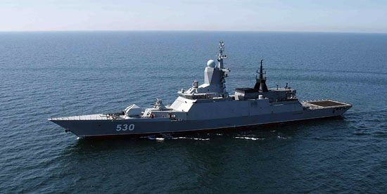 Россия, фрегат, корабль, Стрегущий
