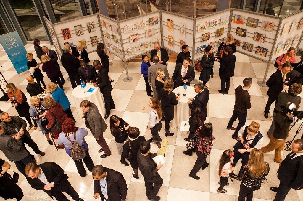 Выставка работ финалистов Конкурса в здании ООН в Нью-Йорке
