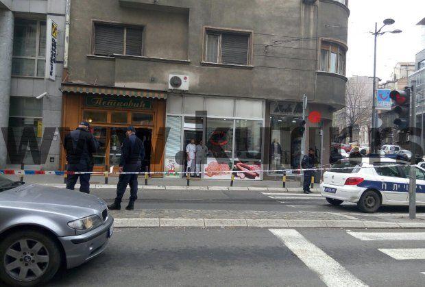 В центре Белграда неизвестный взорвал себя гранатой