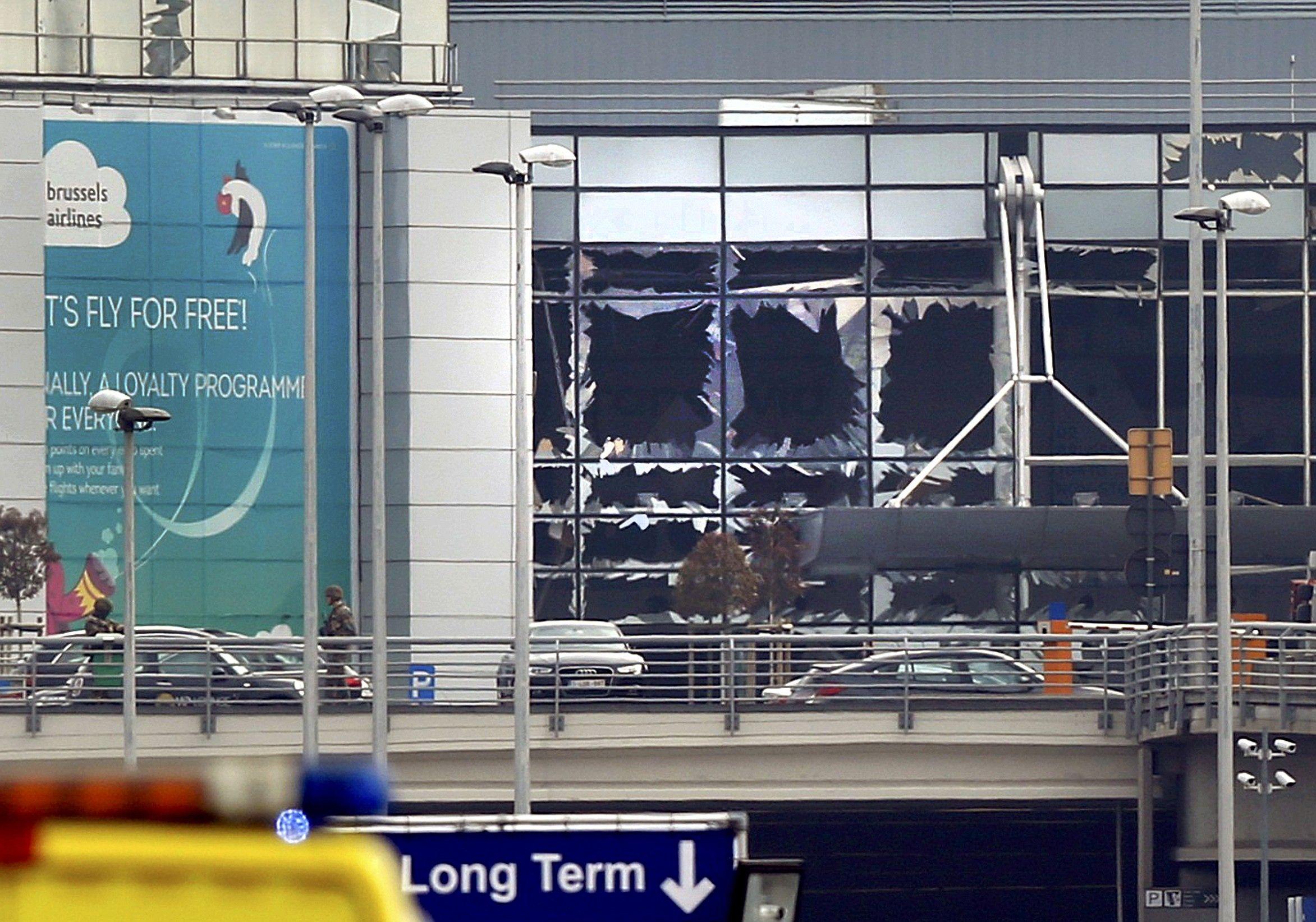 Теракты в Брюсселе.