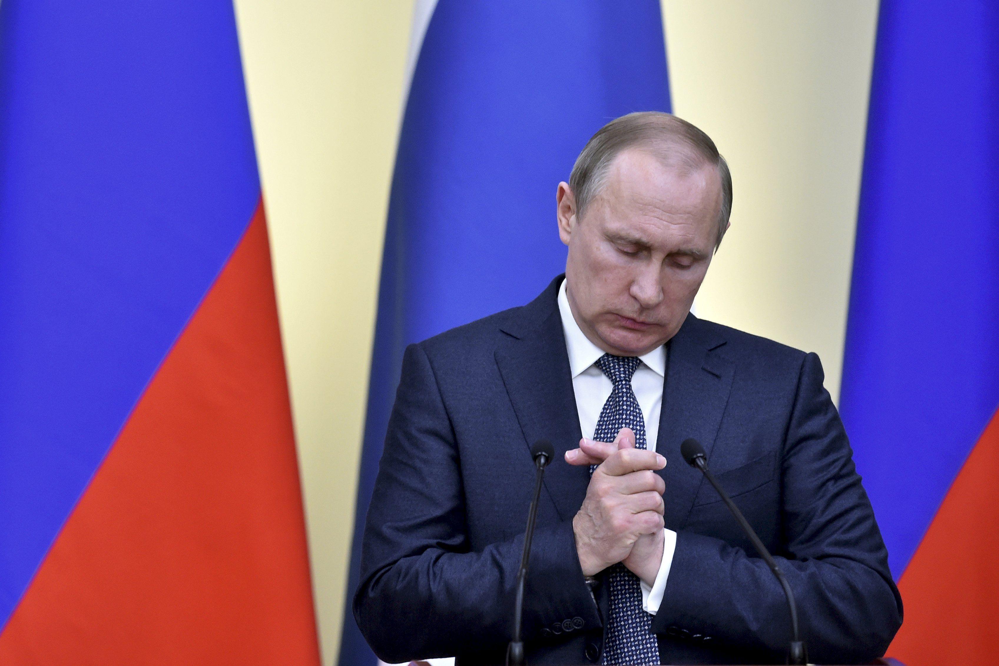 Журналист назвал худший кошмар в жизни Путина