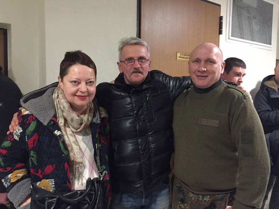 Николай Коханивский (справа)