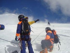 На Эльбрусе сорвался альпинист из Украины