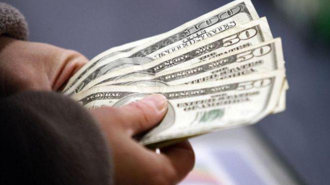 Доллары, иллюстрация