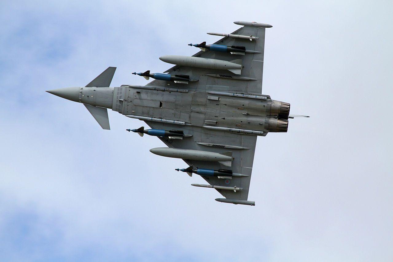 Самолет Eurofighter Typhoon