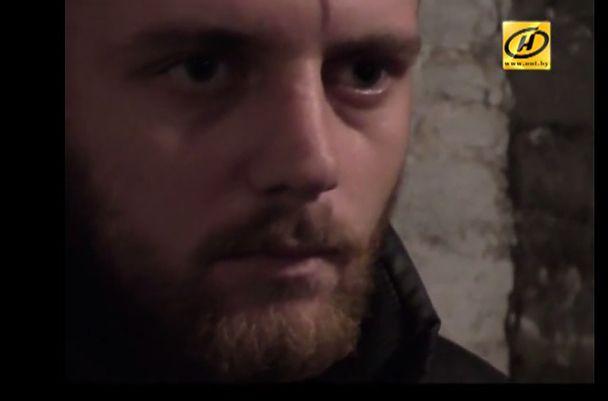 Иван Ляса в плену