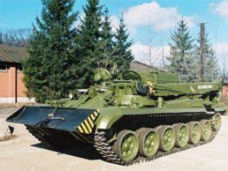 В Украине разработали новый армейский тягач