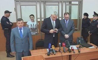 Адвокаты Савченко в суде.