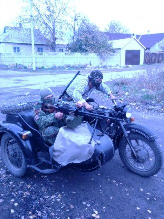 """Морпехи"" террористической ДНР, иллюстрация"