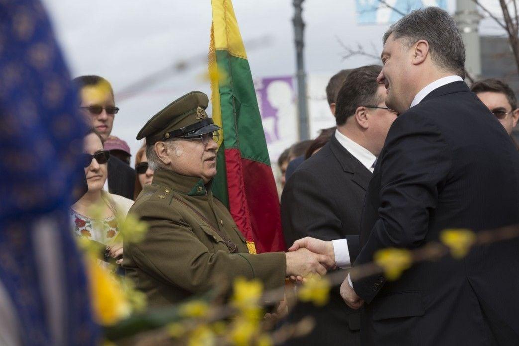 Петр Порошенко в Вашингтоне. Встреча с украинской диаспорой