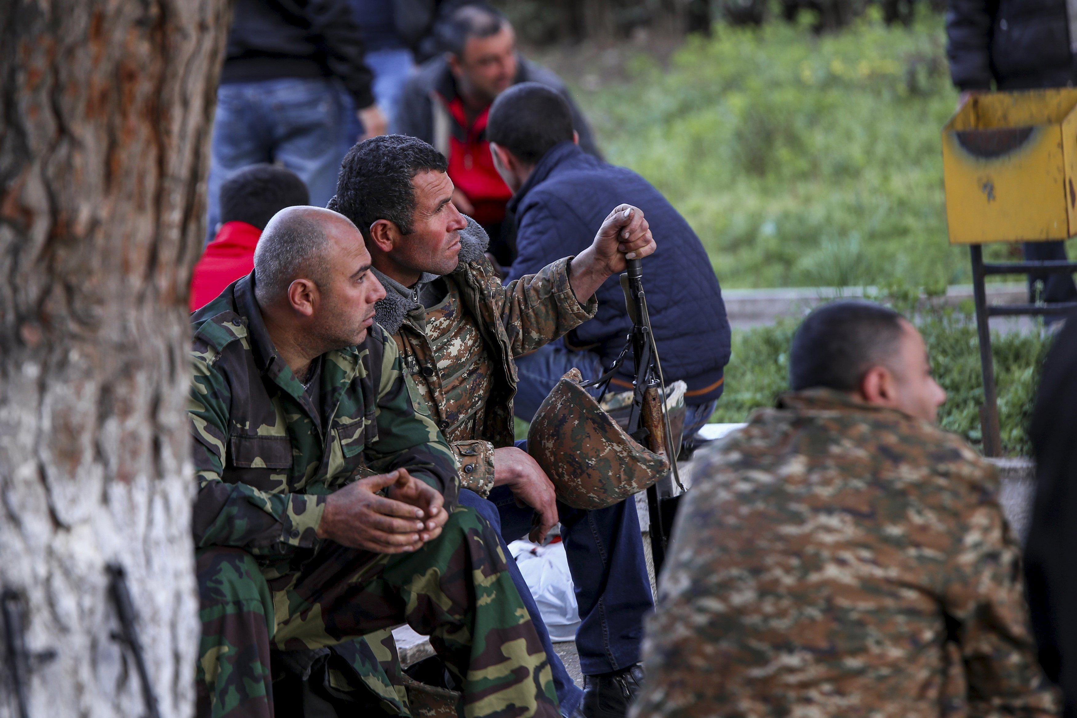 В Нагорном Карабахе прекращены боевые действия