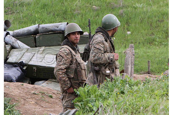 Армянская армия в Нагорном Карабахе, иллюстрация