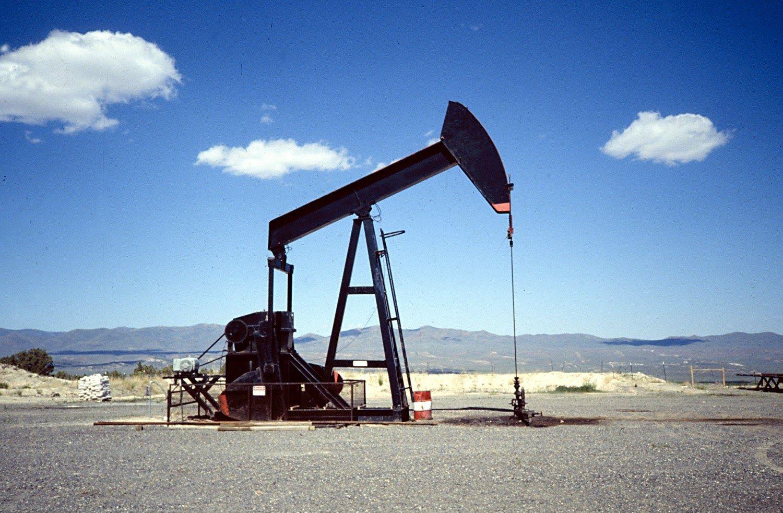 Нефтяная вышка, иллюстрация