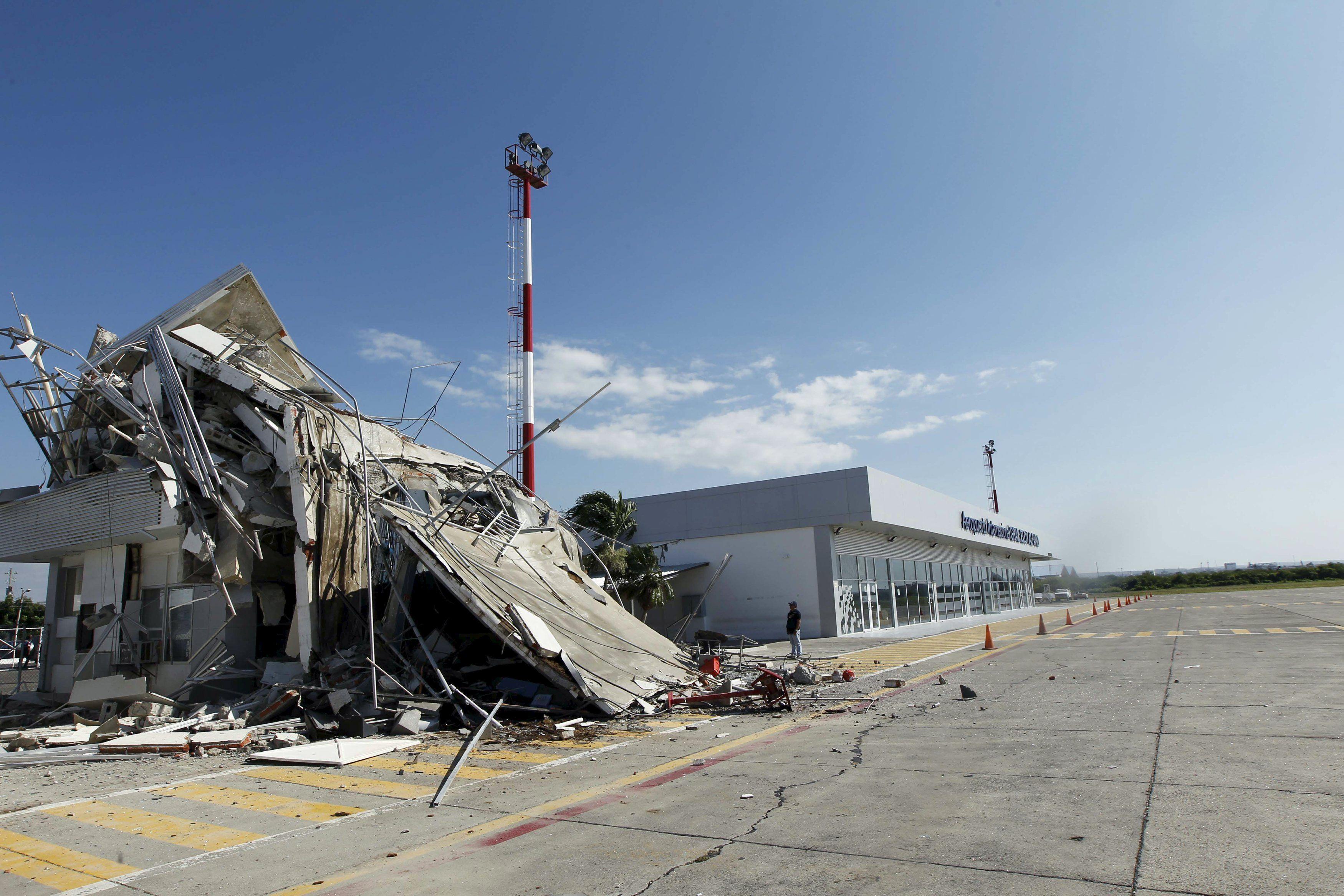 Землетрясение в Эквадоре.