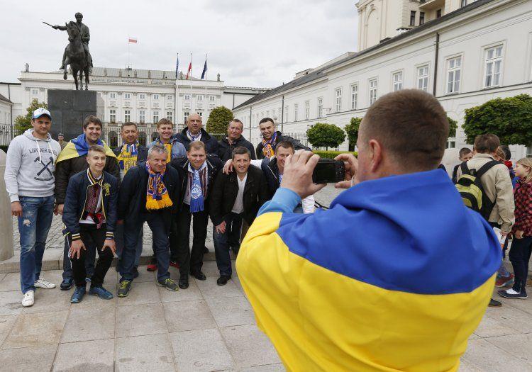 Украинцы в Варшаве