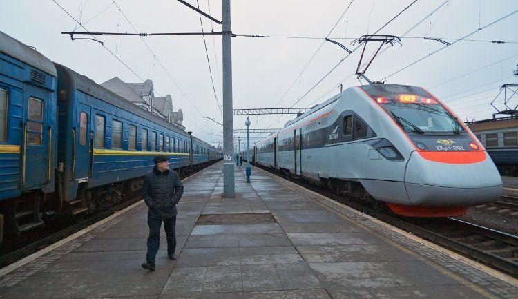Украинские поезда, иллюстрация