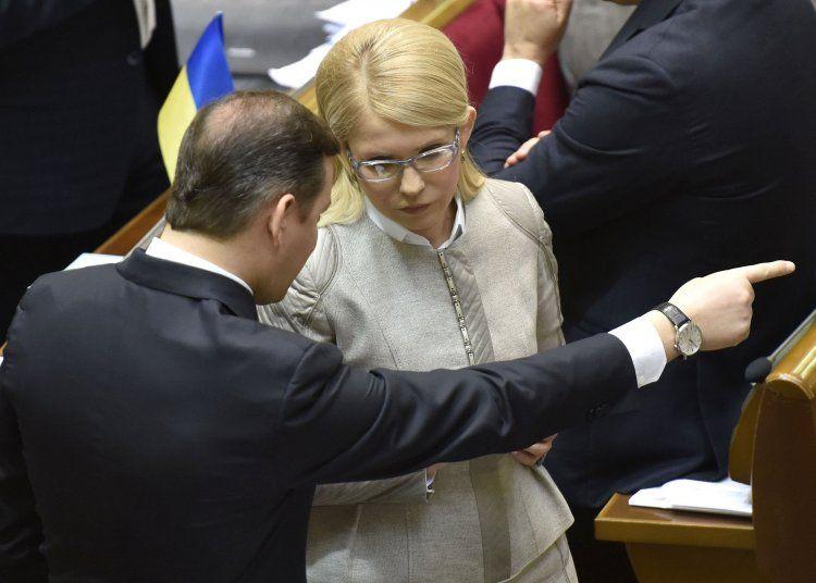 Ляшко и Тимошенко грають на одному електоральному полі