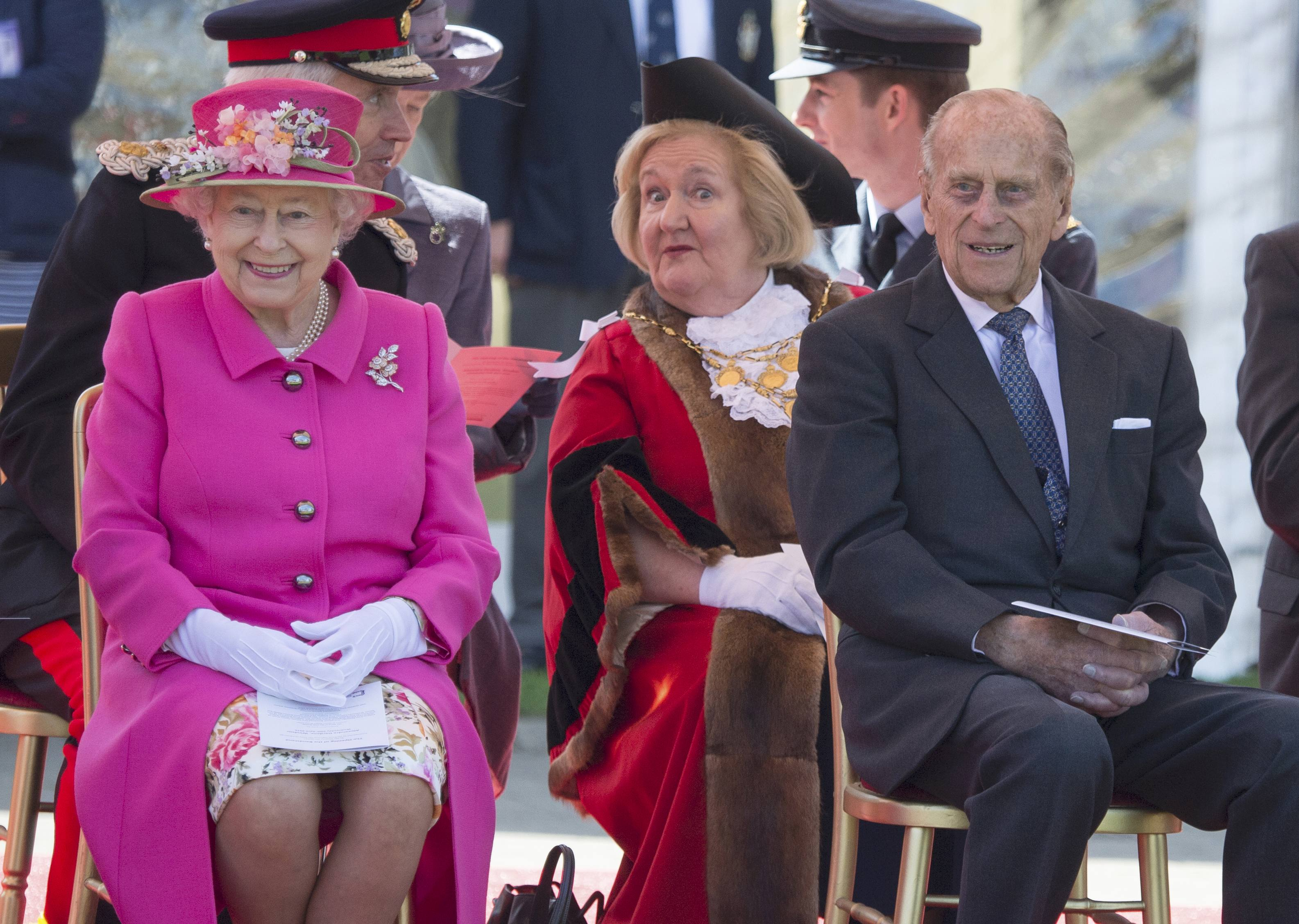 Елизавета ІІ и принц Филипп