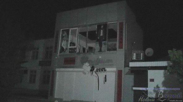 В Геническе в магазине прогремел взрыв