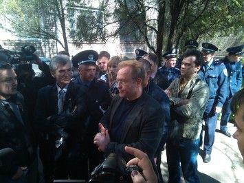 В Запорожье Волга получил по голове