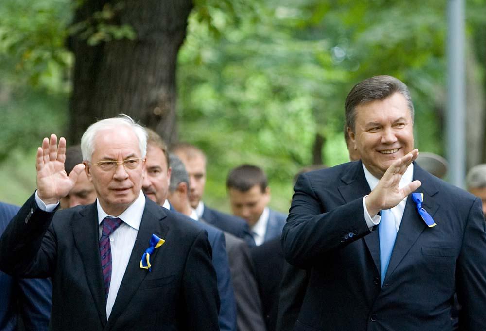 Азаров, Янукович