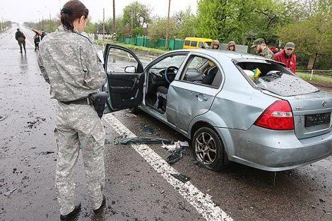 В Еленовке на блокпосту погибли 4 мирных жителя