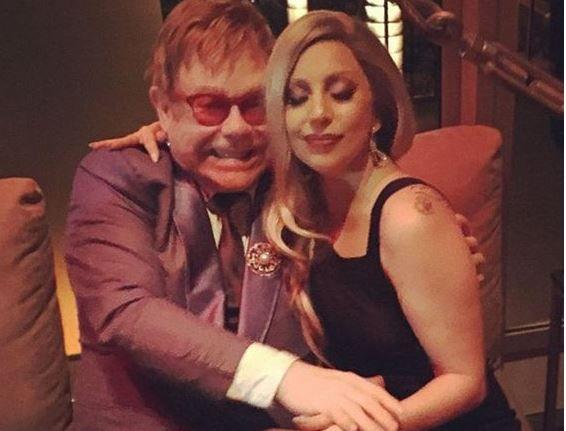 Элтон Джон и Леди Гага