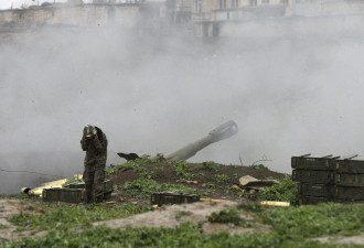 Война Армения-Азербайджан за Нагорный Карабах - в деле появилась третья сторона