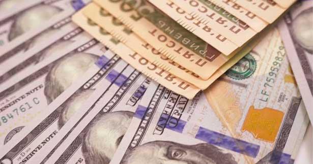 гривны, доллары